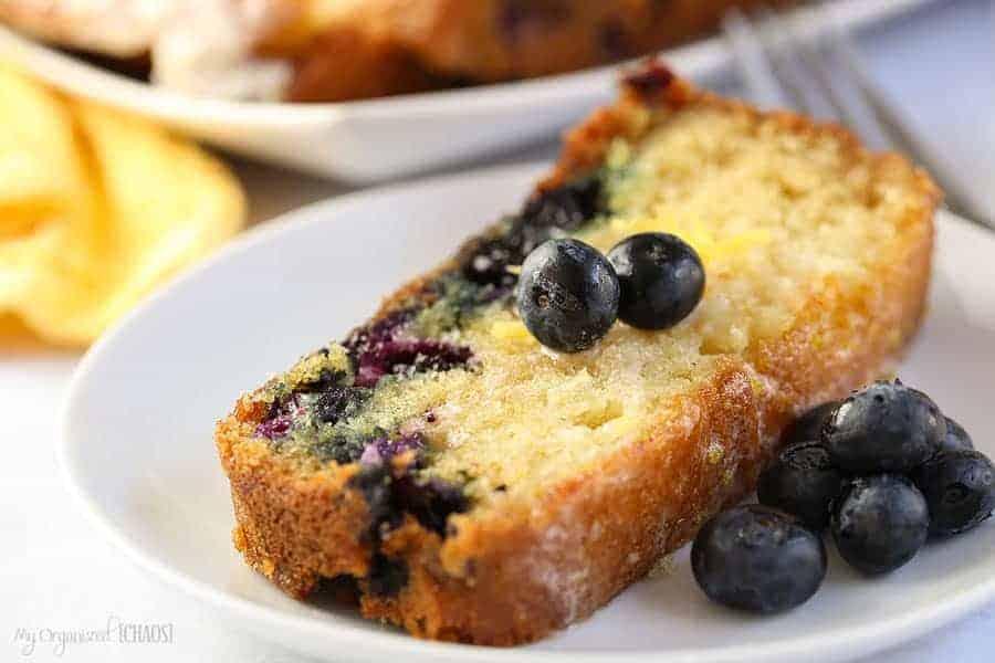 Blueberry Lemon Loaf Cake