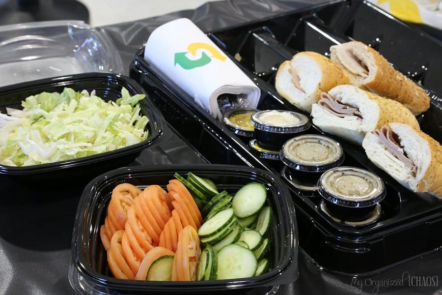 subway canada platter