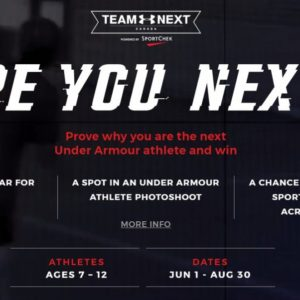 Parents of Athletes – Your Child could be on TEAM UA NEXT