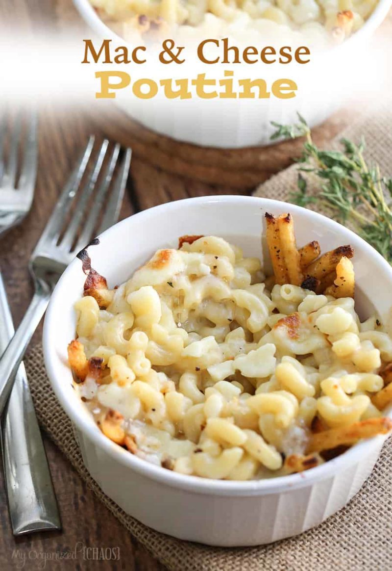 the best mac and cheese poutine