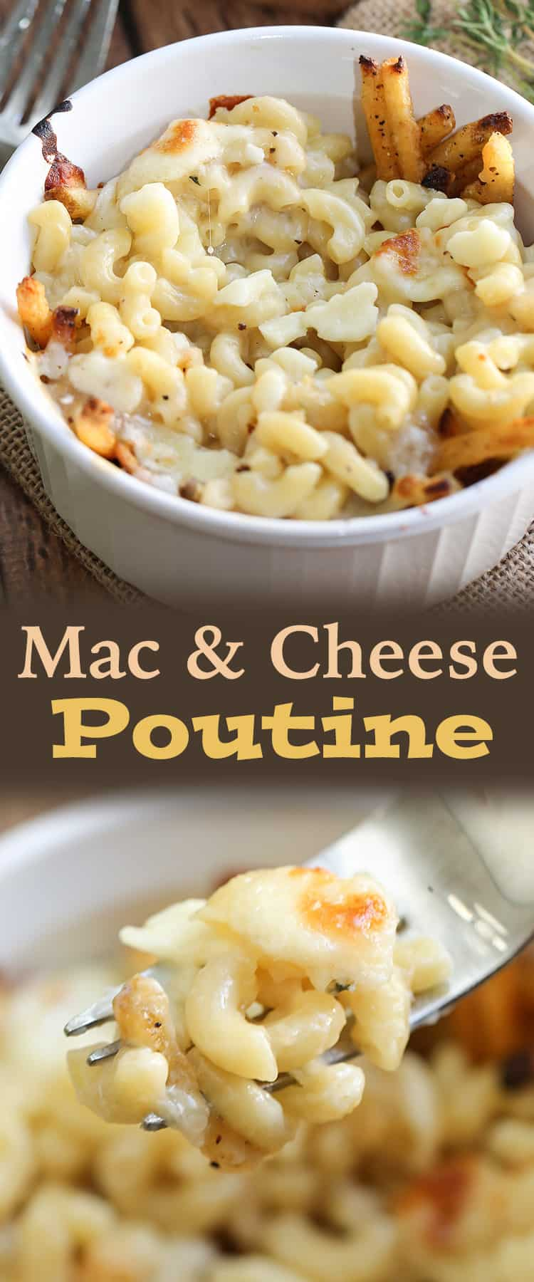 best ever mac and cheese poutine