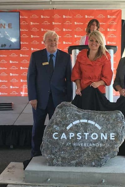 The City of Red Deer Announces Capstone at Riverlands