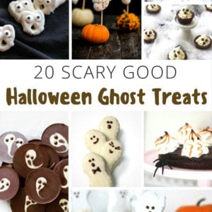 20 Halloween Ghost Treats