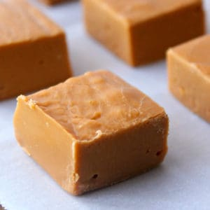 Butterscotch Fudge with 3 Simple Ingredients