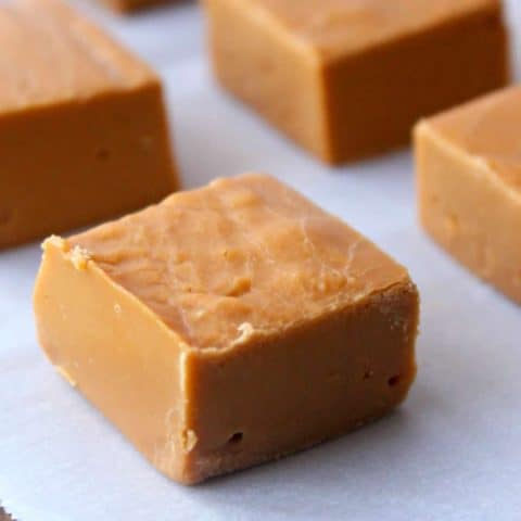 Easy Butterscotch Fudge with 3 Simple Ingredients. Plus this is a no-bake fudge recipe, which is even better. Effortless and delicious!