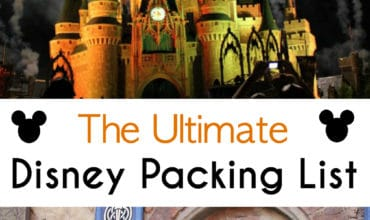 The Ultimate Disney Packing List