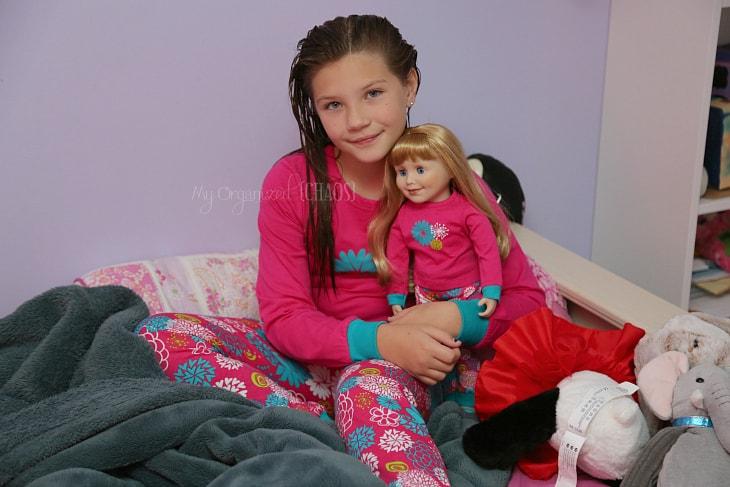 Maplelea kid doll matching pajamas