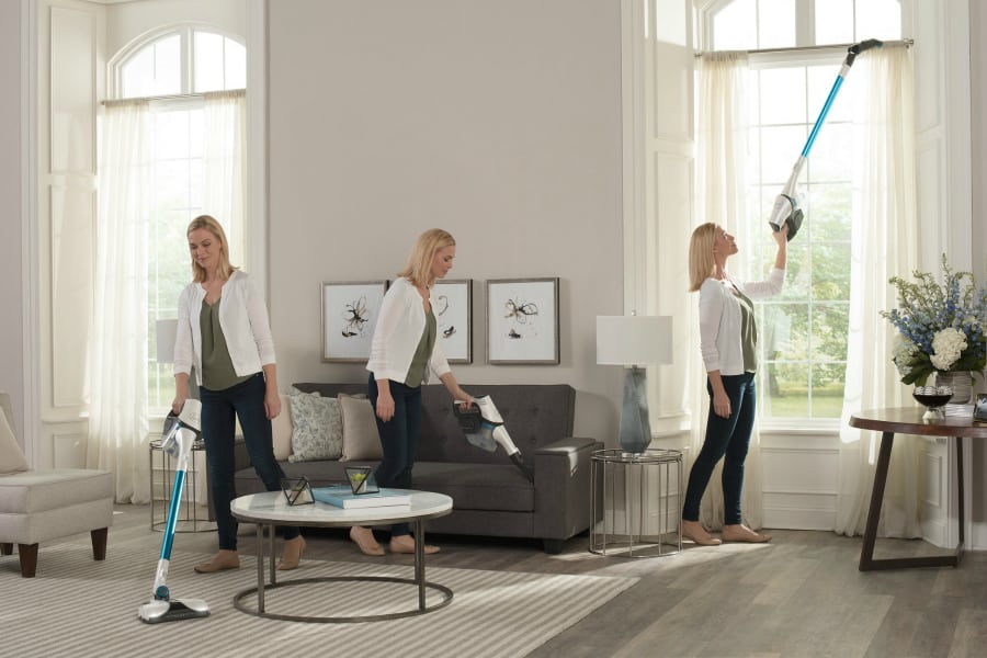 Hoover REACT Cordless Stick Vacuum Features