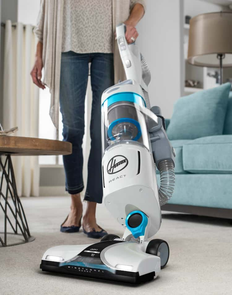 Hoover React Upright