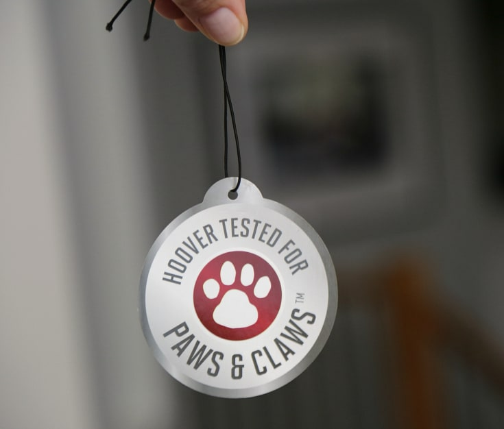 Hoover Tested for Paws & Claws™ Seal