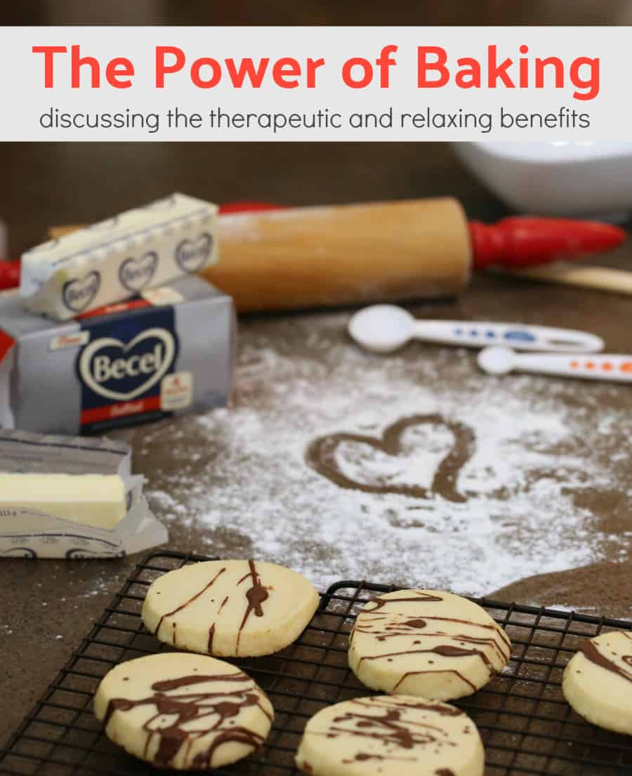 Therapeutic relaxing benefits of baking