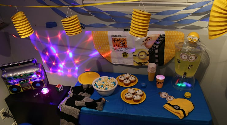 Despicable Me 3 movie party