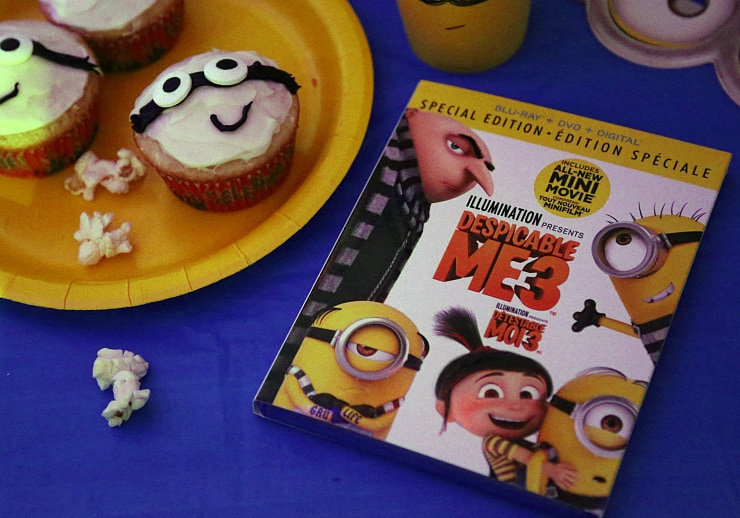 Celebrating the Release of Despicable Me 3 on Blu-ray with a Party!
