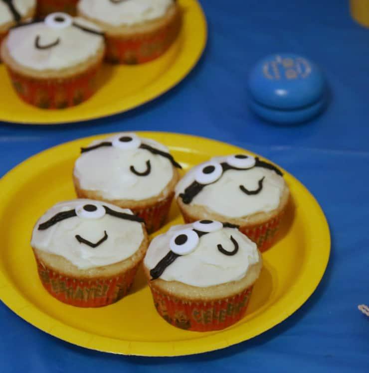Despicable Me 3 movie party cupcakes