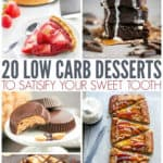 20 Low Carb Desserts to Satisfy Your Sweet Tooth