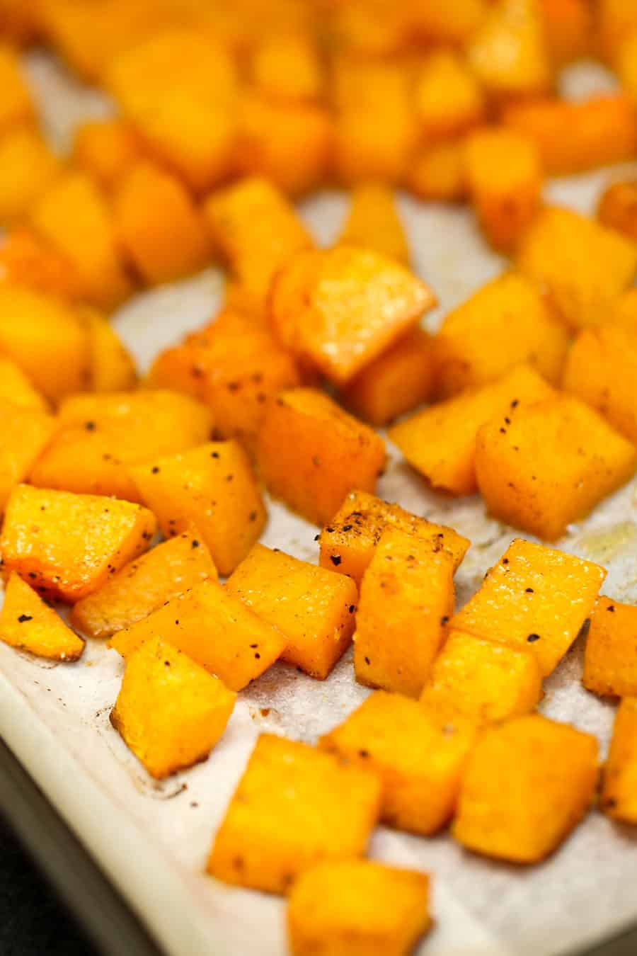 Vitamin packed Roasted Maple Cinnamon Butternut Squash