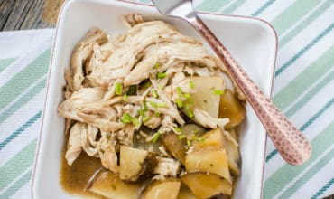 Slow Cooker Mississippi Chicken and Potatoes