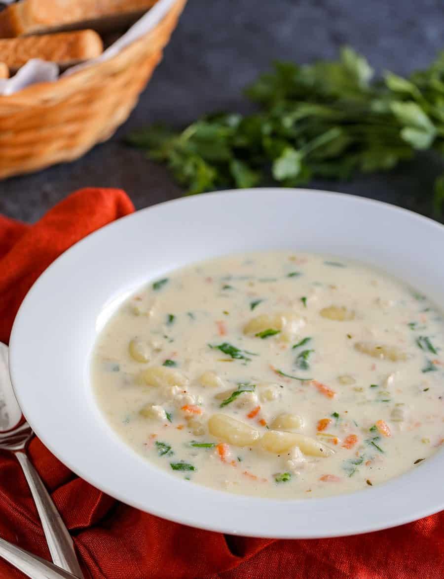 olive garden instant pot chicken gnocchi soup recipe - Olive Garden Gnocchi Soup Recipe