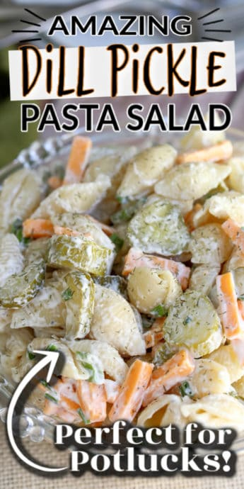pasta salad with text