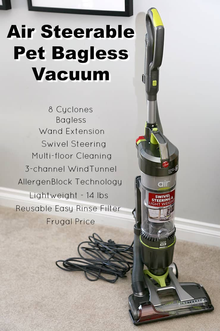 Hoover Air Steerable Pet Bagless Vacuum