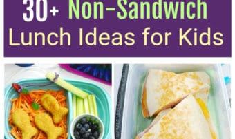 Non-Sandwich Lunch Ideas for Kids