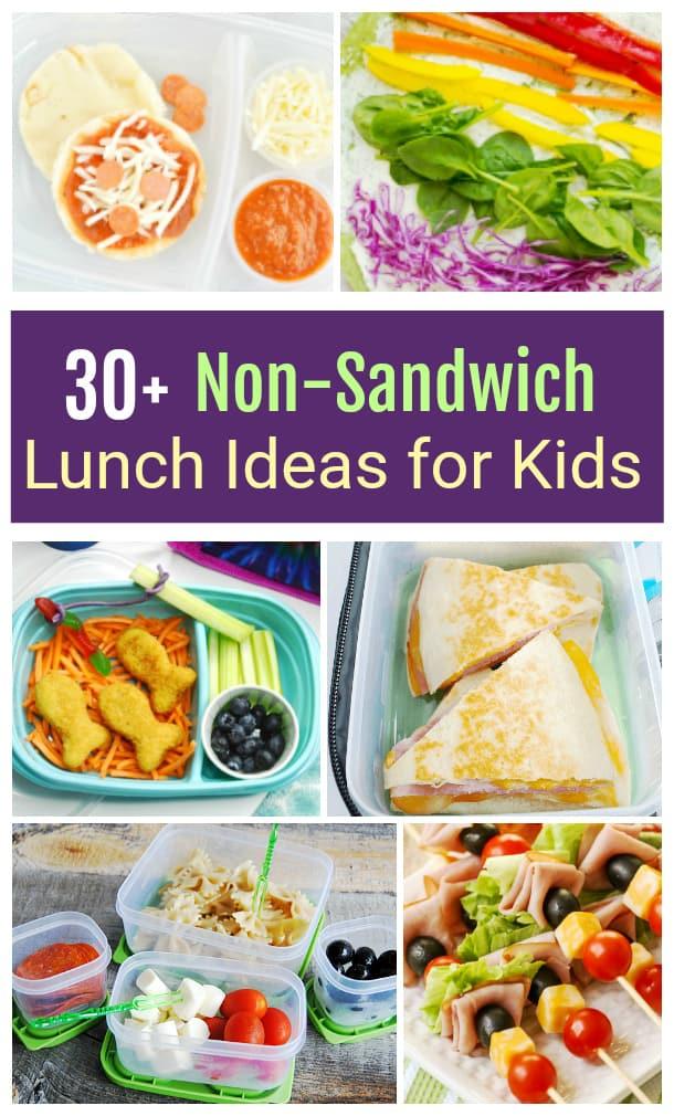Non-Sandwich Lunch Ideas