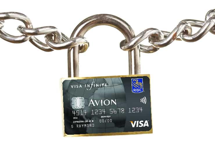 Locked RBC Card