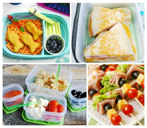 You and your kids in a school lunch rut? Are they boycotting the same old? Here is a great collection of 30+ Non-Sandwich Lunch Ideas for Kids