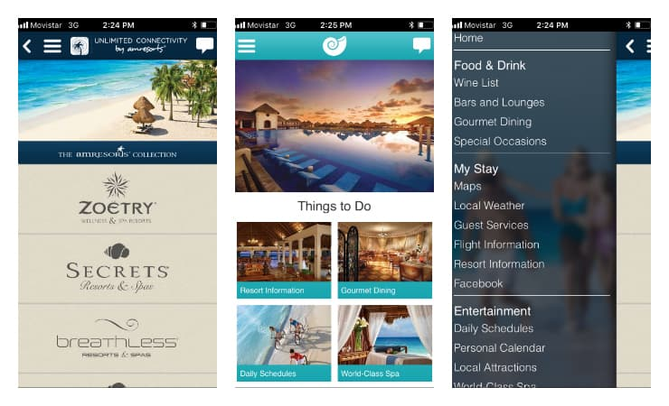 Now Resorts App