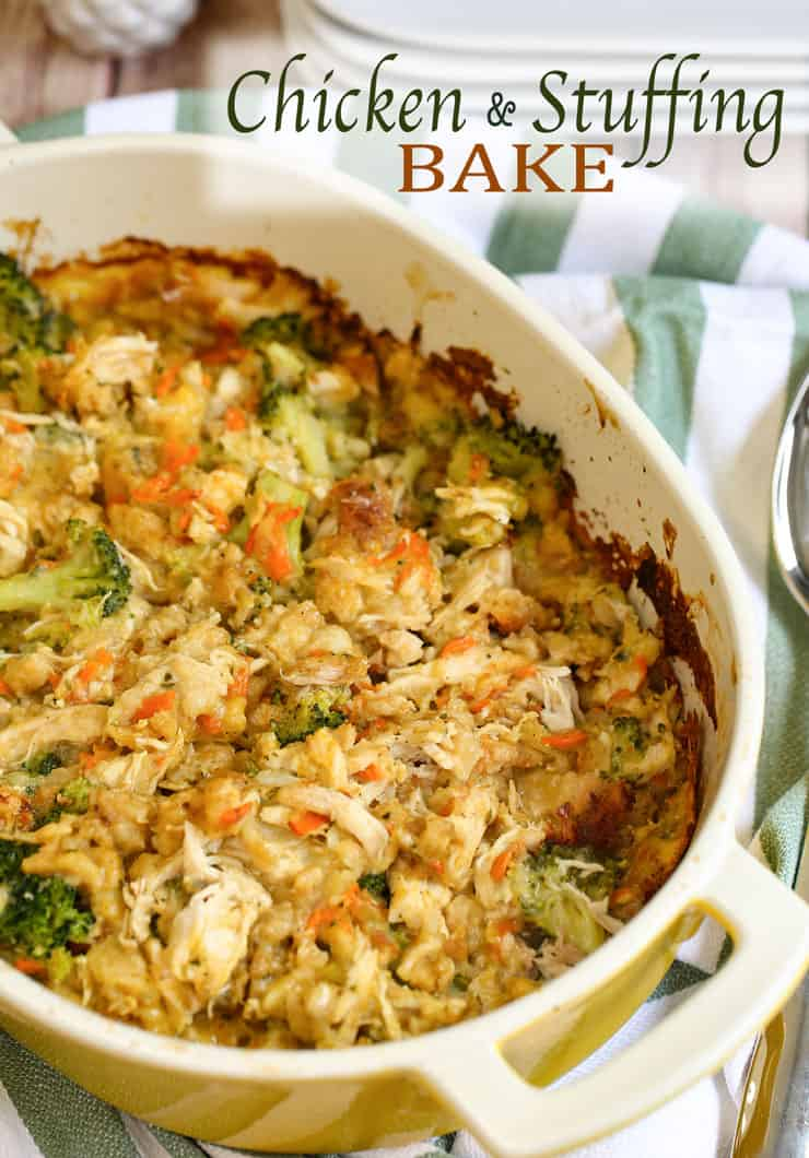 This Chicken Stuffing Bake recipe