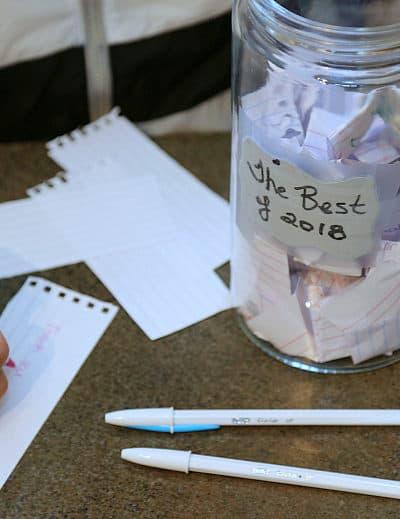 DIY Annual Memories Jar