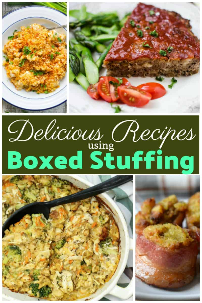 delicious recipes using boxed stuffing