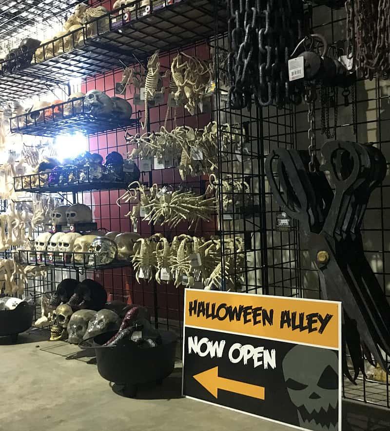 Halloween Alley red Deer Sale