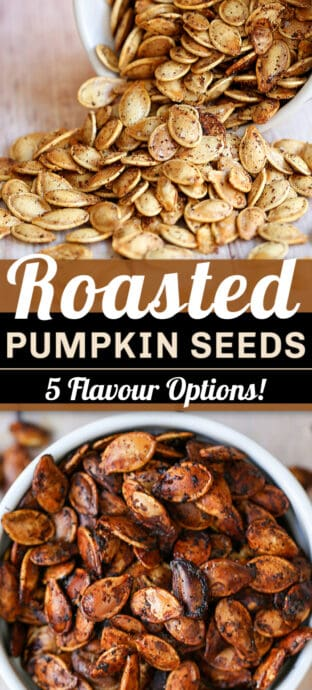 roasted pumpkin seeds flavours