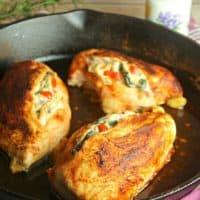 Stuffed Tuscan Chicken
