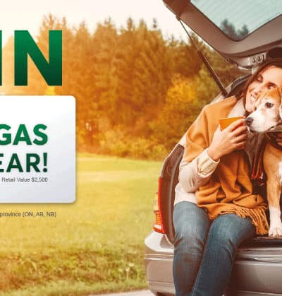 Win Free Gas for a Year with Desjardins Insurance
