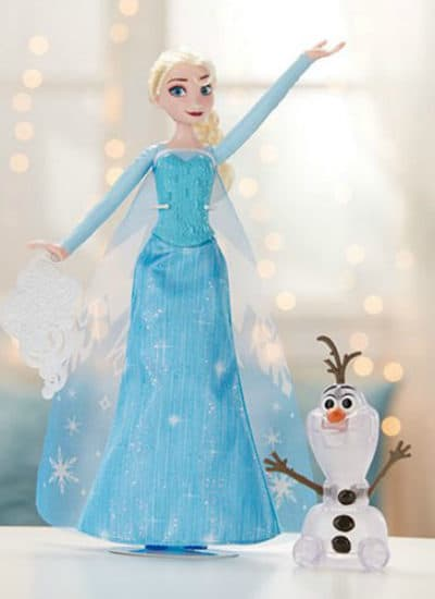 Disney Frozen Icy Lights Elsa Doll