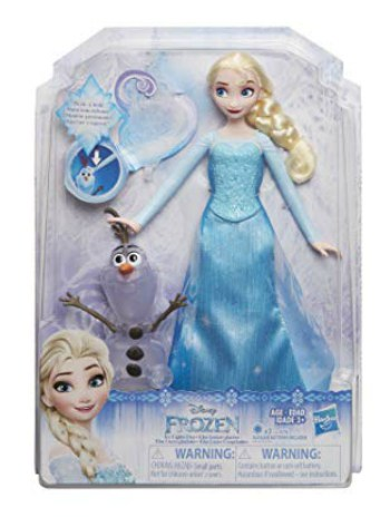 Disney Frozen Icy Lights Elsa Doll