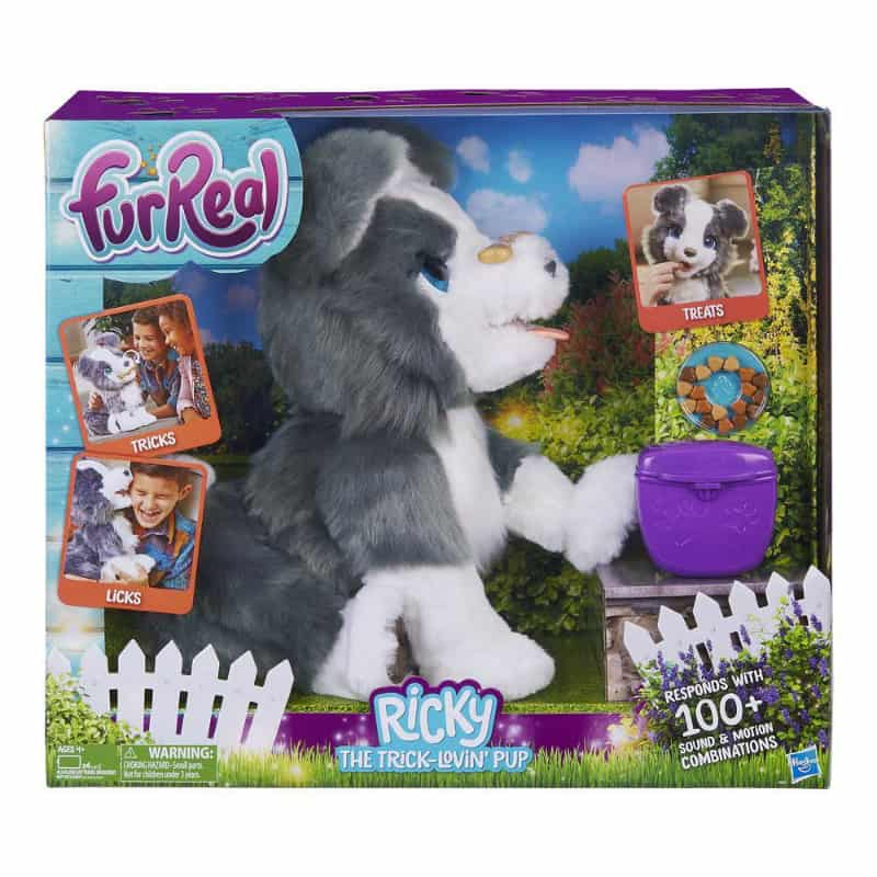 furReal Ricky, the Trick-Lovin' Pup