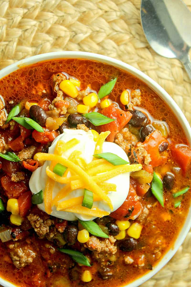 Taco Chili Slow Cooker Or Stovetop