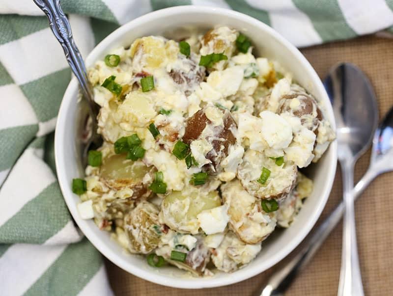 Roasted Red Potato Salad