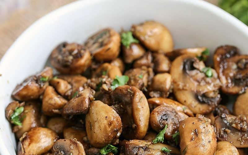 balsamic mushrooms