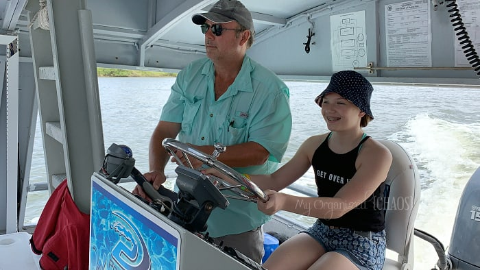 eco boat tour ponce inlet florida kids