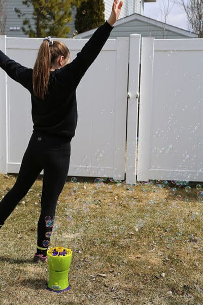 Get Outside with Gazillion Bubbles!