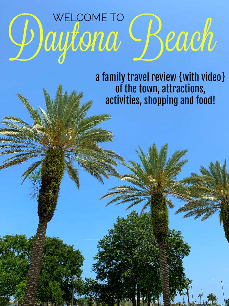 family travel review with video of daytona beach