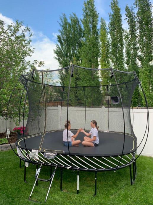 Springfree Trampoline Backyard Giveaway