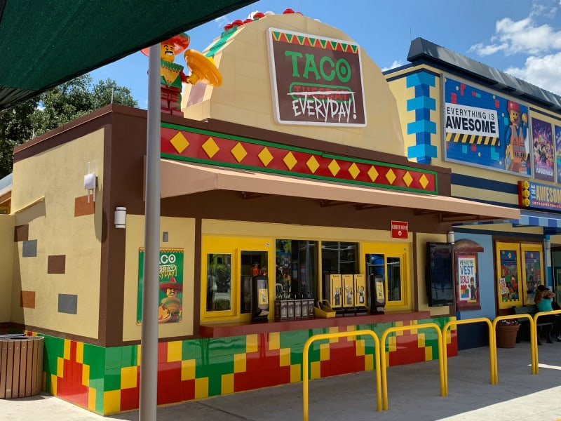 Taco Tuesday Everyday LEGOLAND