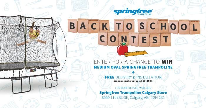 springfree trampoline contest