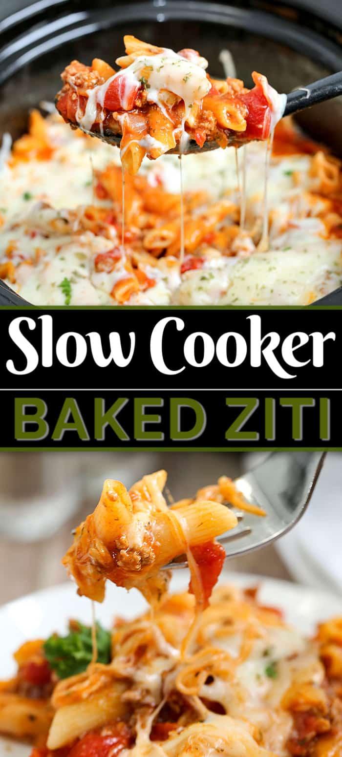 slow cooker ziti recipe