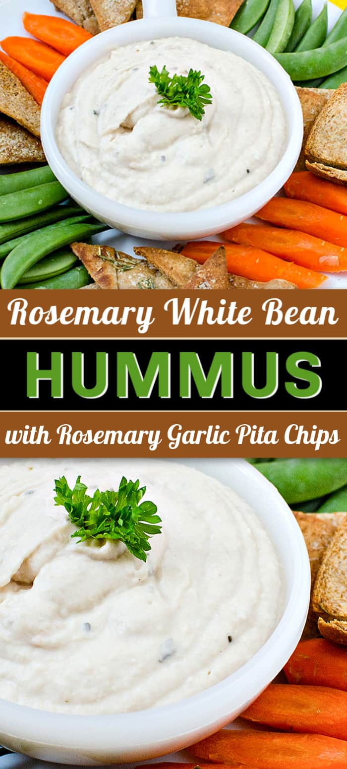 rosemary garlic lemon hummus